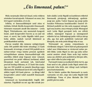 Üks-limonaad-palun artikkel Hiiumaa limonaadi kohta.